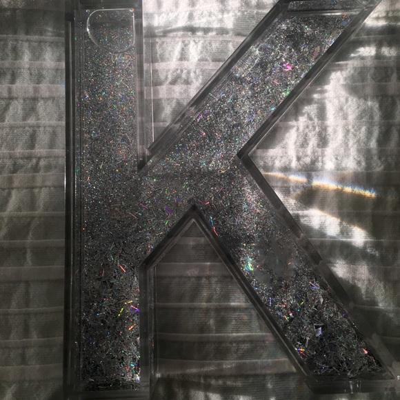 c29be21e9c5e Sicura Other   Letter K Roomhome Glitter Decor   Poshmark